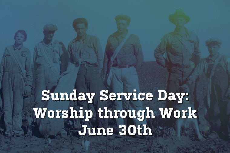 Service Day June 30th